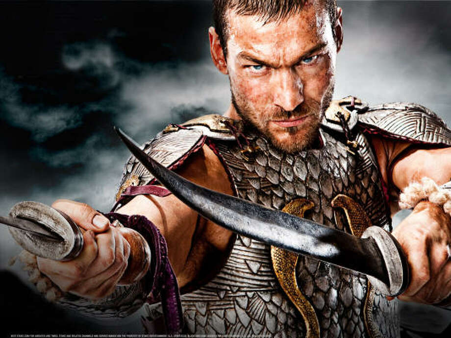 Andy Whitfield heads the cast of Spartacus: Blood and Sand, a Starz original action-adventure series, set in the brutal Roman gladiator era. Photo: Starz