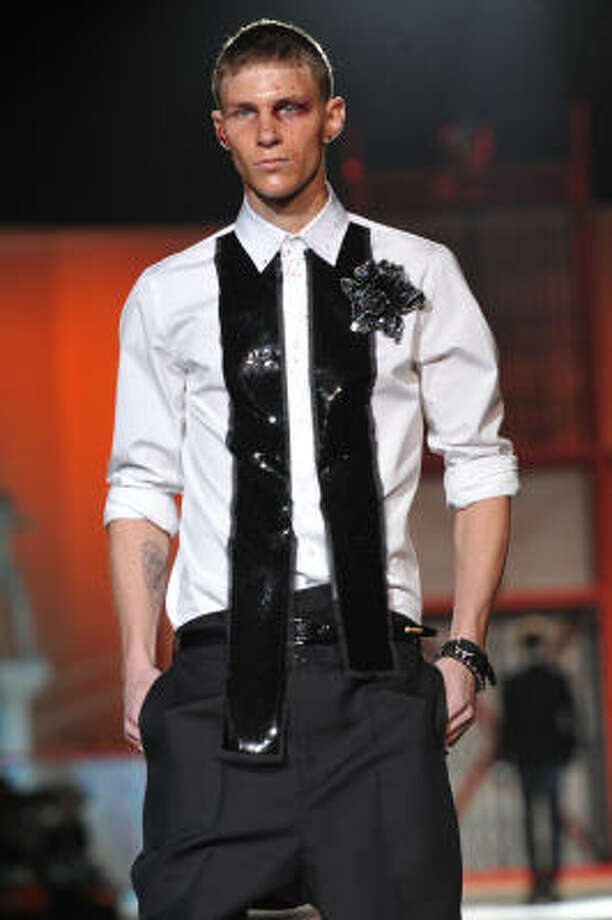 Dsquared2 Fall-Winter 2010-2011 Menswear collection Photo: GIUSEPPE CACACE, AFP/Getty Images