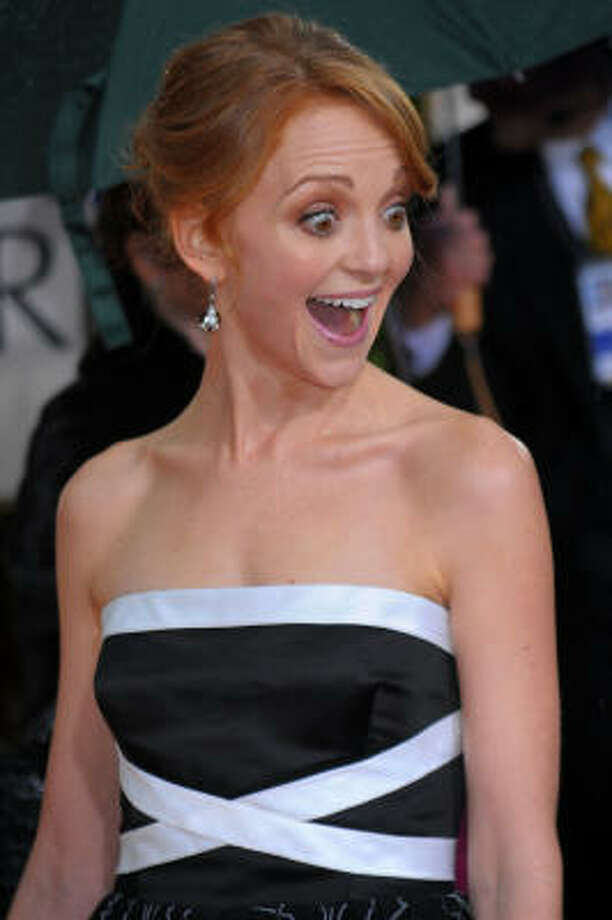 Jayma Mays of Glee Photo: Jason Merritt, Getty Images