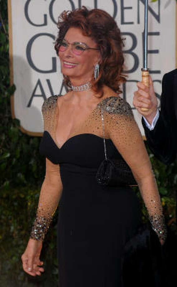 Sophia Loren Photo: Jason Merritt, Getty Images