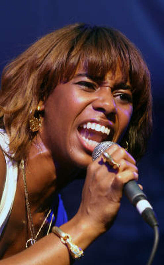 "santigold: ""Climbing Mt. Kilimanjaro was the hardest physical endeavor of my life. It was amazing in so many ways, but I never want to do it again! : )"" Photo: Jack Plunkett, AP"