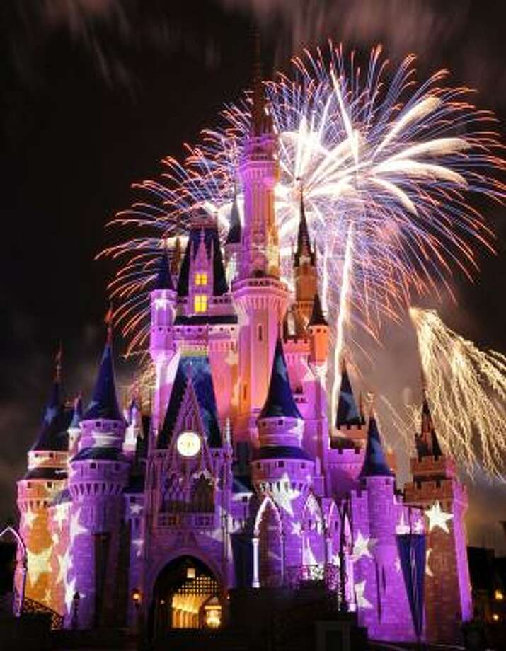 Most checked-in places No. 2 - Disneyland Photo: DAVID ROARK, AP