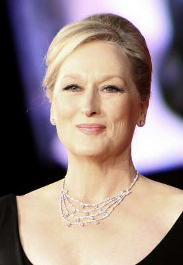 Let's give it a stylish stab at what we might see on the red carpet with suggestions inspired by the spirit of the Globe-trotting actresses' award-nominated performances.    Meryl Streep:  Julie & Julia and It's Complicated Photo: ALESSANDRA TARANTINO, AP