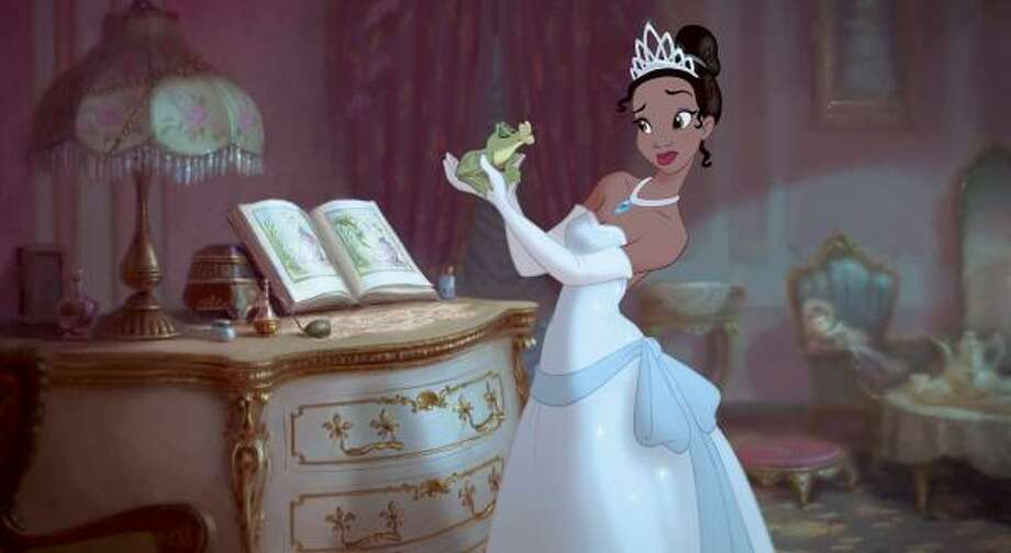 The Princess and the Frog, $xxx million  Disney's newest animated tale, set in New Orleans, features Princess Tiana and her fateful kiss with a frog prince who desperately wants to be human again. Photo: AP