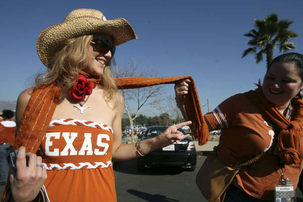 """School: The University of TexasCity: Austin, TexasRank: 9What Playboy said: """"If SXSW party crashing or open-air revelry at Austin City Limits in Zilker Park won't do, Sixth Street is a standby for sousing."""""""