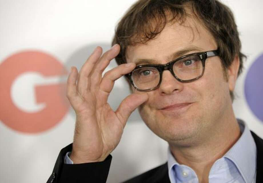 Oh to have a confetti business in Chicago -- @rainnwilson Photo: Chris Pizzello, AP