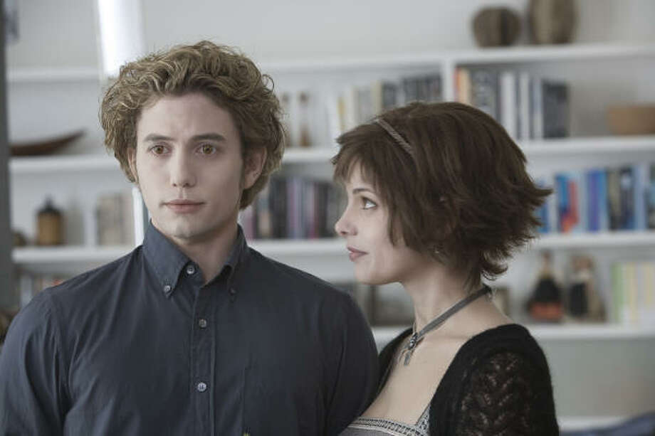 Jackson Rathbone, left, is perhaps best well-known for his role as Jasper, seen here in the movie Twilight. Photo: Peter Sorel SMPSP, Summit Entertainment