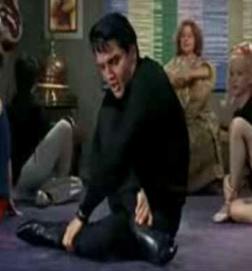 "Buddhism:  In the 1967 movie ""Easy Come, Easy Go,"" Elvis gave yoga a try, singing ""Yoga is as Yoga Does,"" which somehow sounds both country and Asian. Photo: Paramount"
