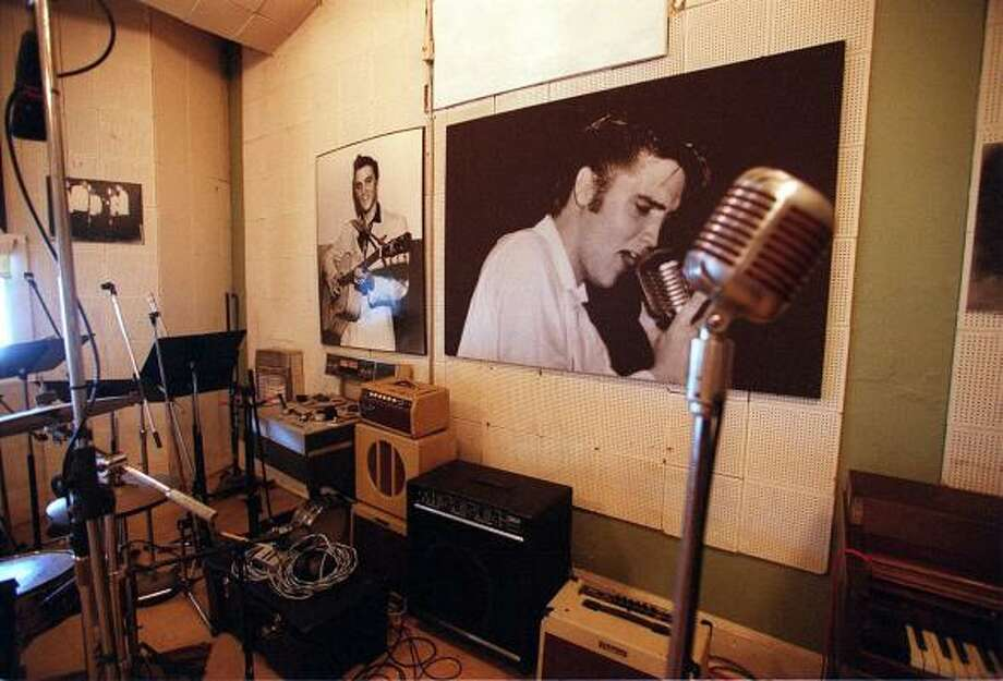 "Christianity: Elvis wrote more than 50 gospel songs and recorded his own versions of classics like ""Peace in the Valley"" and ""How Great Thou Art."" Photo: Tom Uhlenbrock, KRT"