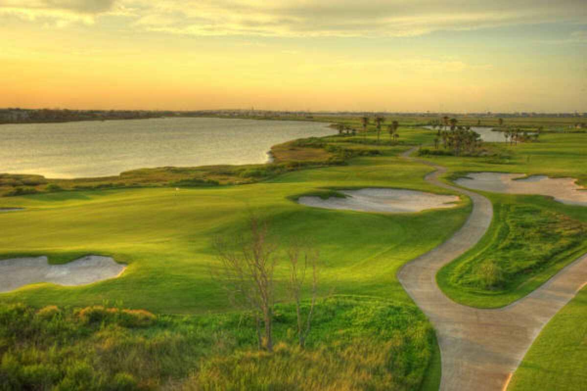 The course is the first in the U.S. to be entirely seeded with sea spray paspalum, a salt tolerant, player-friendly turf grass.