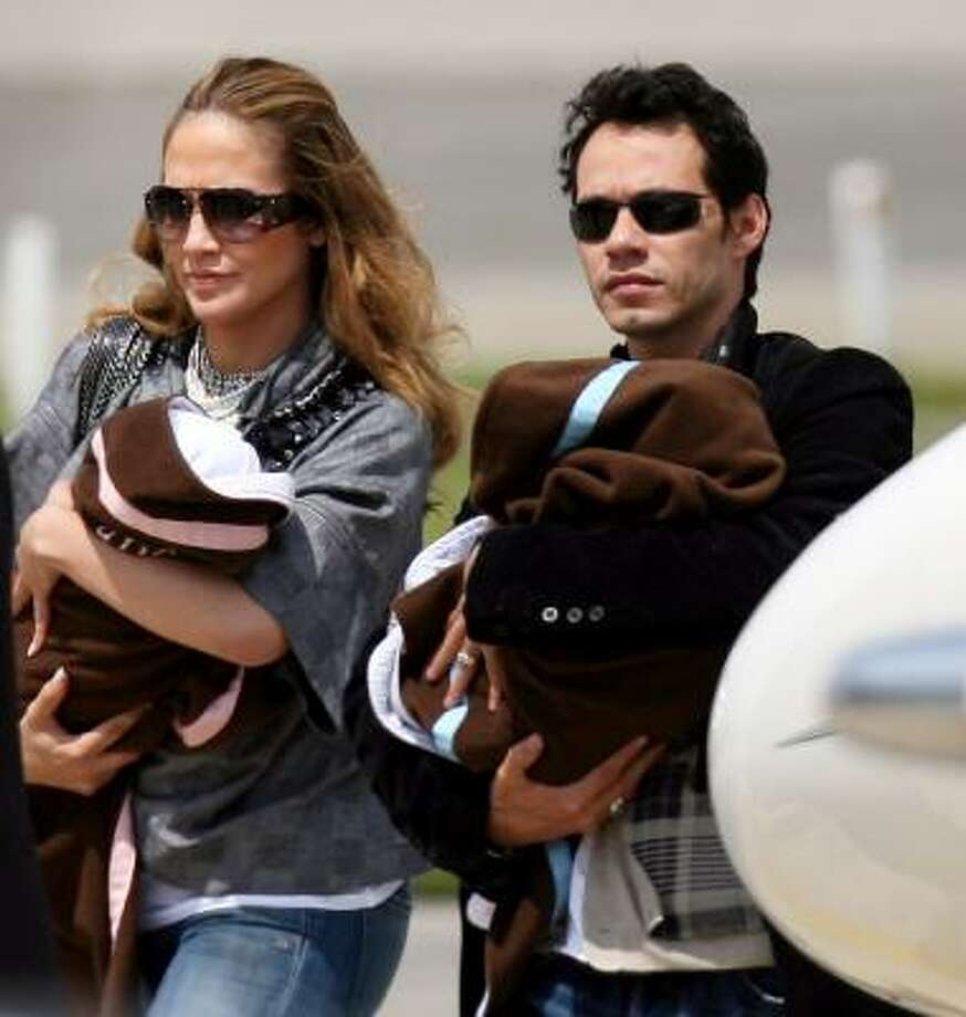 Jennifer Lopez and Marc Anthony are parents to twins Max and Emme. Photo: VIRGINIE LEFOUR, AFP/Getty Images