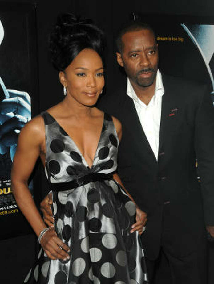 Angela Bassett and husband Courtney B. Vance are parents to twins, a girl and a boy. Photo: Peter Kramer, AP