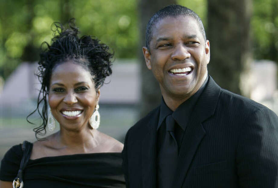 Denzel Washington and his wife Pauletta are parents to twins Olivia and Malcolm. Photo: LEFTERIS PITARAKIS, AP