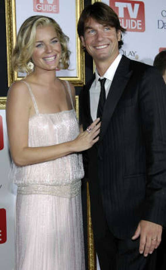Rebecca Romijn and husband Jerry O'Connell are parents to twin girls. Photo: Chris Pizzello, AP