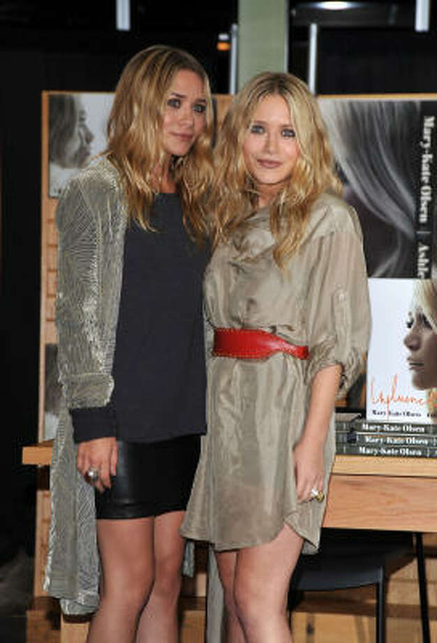Ashley Olsen, left, and Mary Kate Olsen are well-known twins. Photo: Frazer Harrison, Getty Images