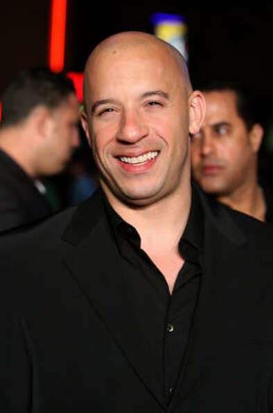 Actor Vin Diesel has a twin brother, Paul.