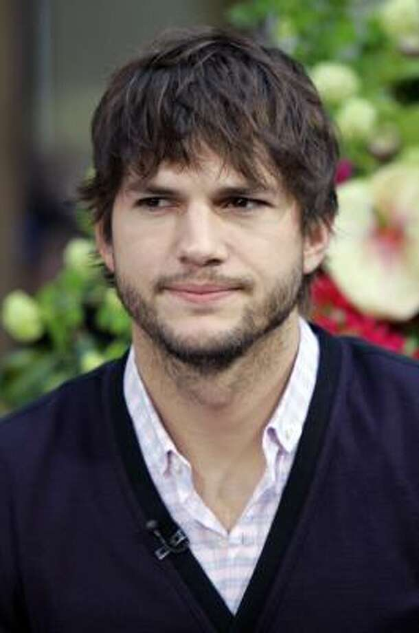 Ashton Kutcher has a twin brother, Michael. Photo: RICHARD DREW, AP