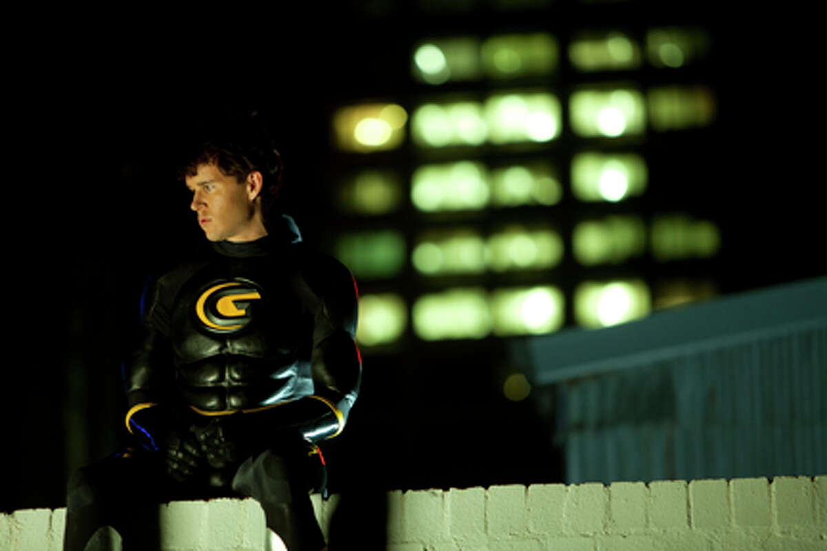 """Ryan Kwanten as Griff in """"Griff the Invisible."""""""