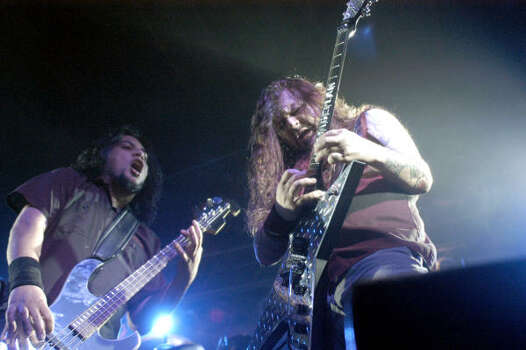 "The late Pantera guitarist ""Dimebag"" Darrell Abbott was born in Ennis, 30 miles southeast of Dallas. Photo: RALPH DUKE, AP"