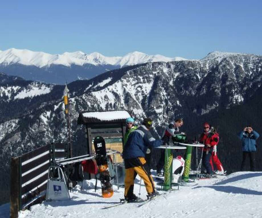 TAKE YOUR PICK: Jasna offers a variety of slopes for both skiers and boarders. Photo: LEAH LARKIN, For The Chronicle