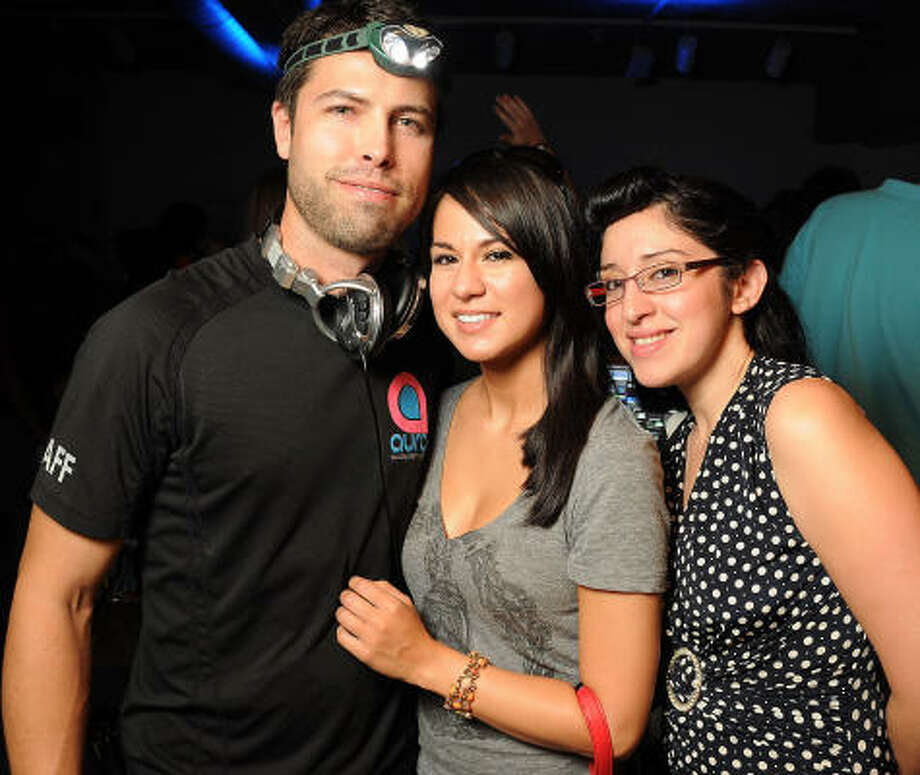 From left: Miguel Medina Jessica Porras and Victoria Garcia Photo: Dave Rossman, For The Chronicle