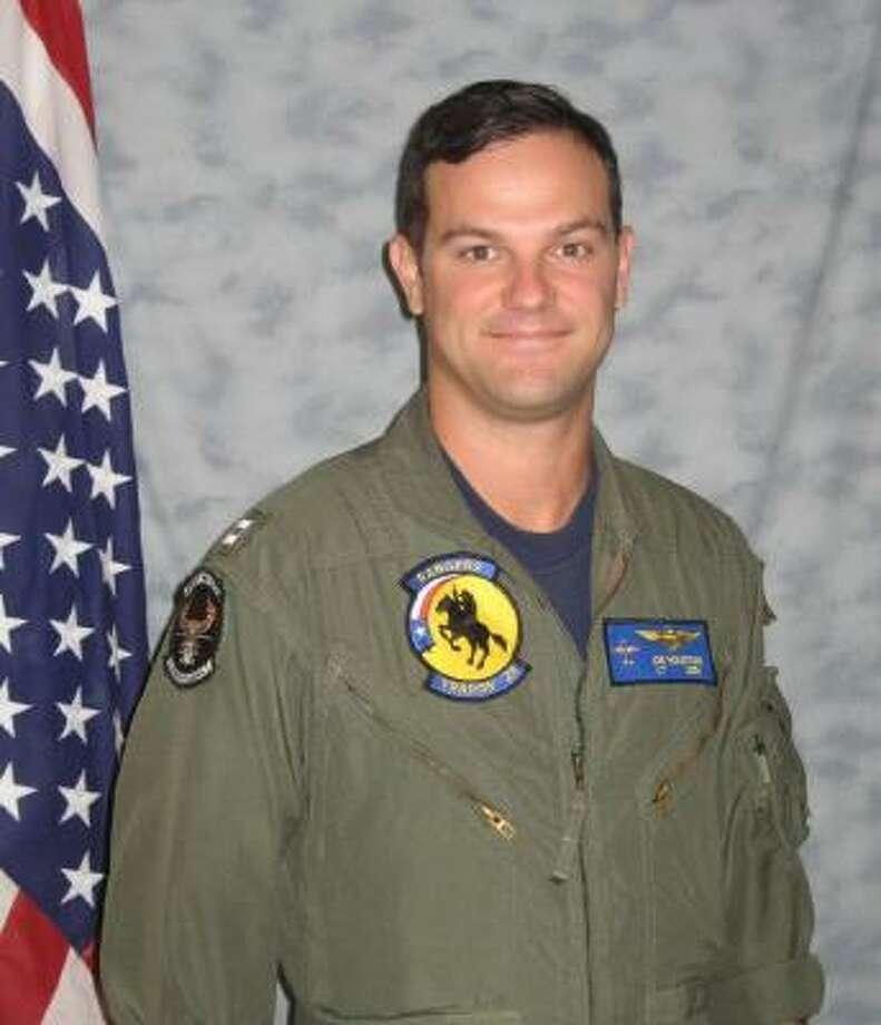 Houstonian John Joseph Houston disappeared during a training flight. Photo: Navy