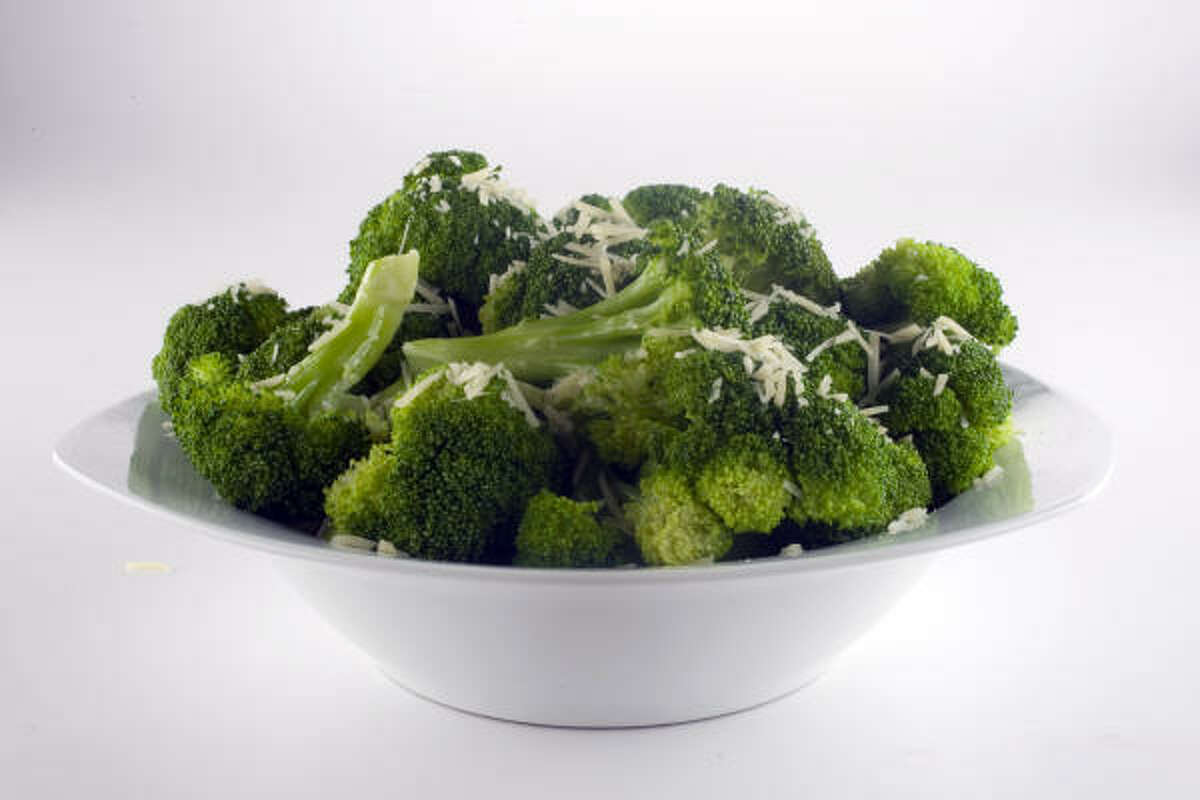 Broccoli has about 100 mg of vitamin C per cup.