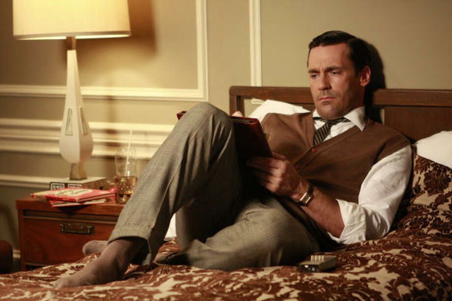 """Mad Men,"" starring Jon Hamm as  Don Draper, has started filming Season 3. Unfortunately, you won't see it till August. Photo: AMC"