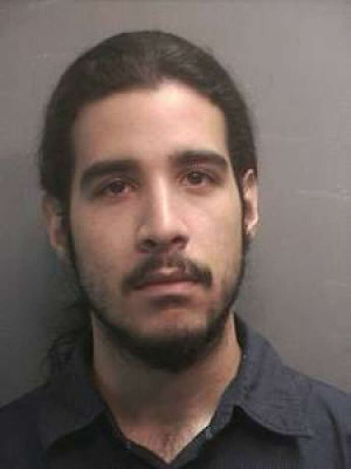 Authorities say Bryant Gerley Munoz was caught photographing up a woman's skirt.