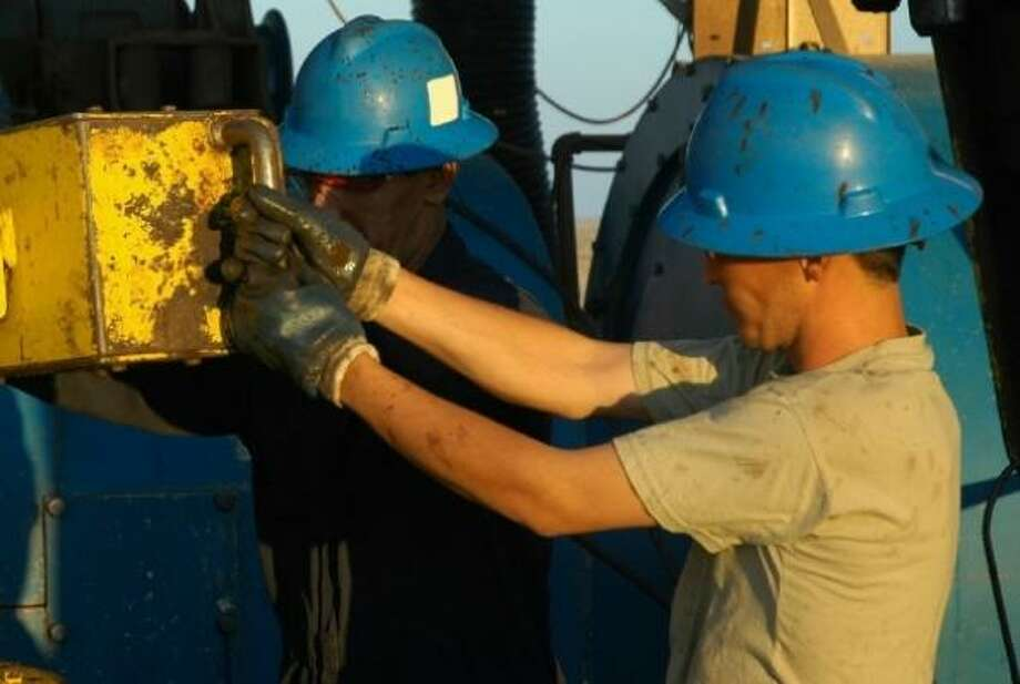 JOBS PRODUCER: Shale gas fields are creating jobs for engineers in a range of disciplines as well as rig  workers, geologists, other field workers and administrative staff.