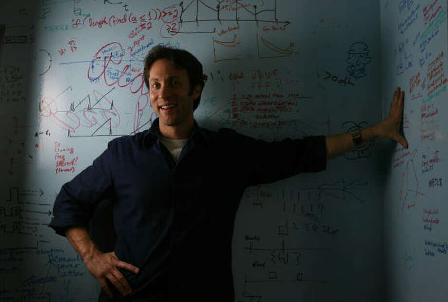 Neuroscientist David Eagleman says his book, Sum: Forty Tales From the Afterlife, is more about human nature than death, heaven or hell. Photo: Mayra Beltran, Chronicle
