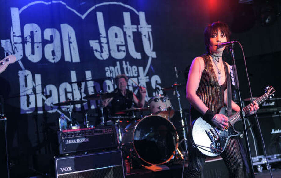 Joan Jett loves rock'n'roll. Photo: Chris Pizzello, AP