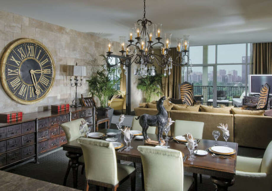The Tycoon Suite at Hotel ZaZa has hosted a steady stream of celebrities who've been coddled in 2,200 square feet of pure indulgence. Photo: HOTEL ZAZA
