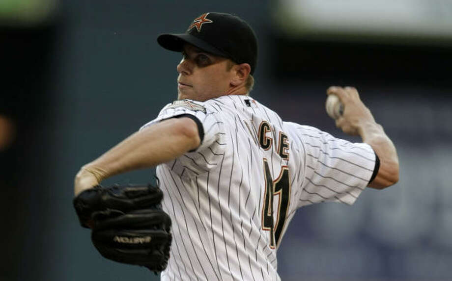 It was a difficult 2008 for Brandon Backe, who had a 6.05 ERA to go with a 9-14 record. Photo: Karen Warren, Houston Chronicle