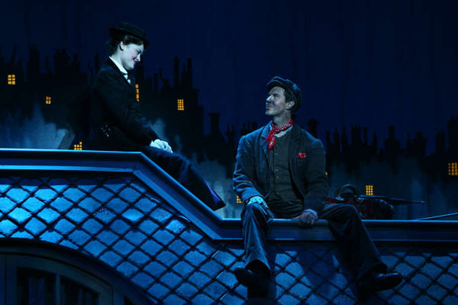 Mary Poppins the musical is based on the P.L. Travers books and the Disney movie. Photo: BROADWAY ACROSS AMERICA-HOUSTON