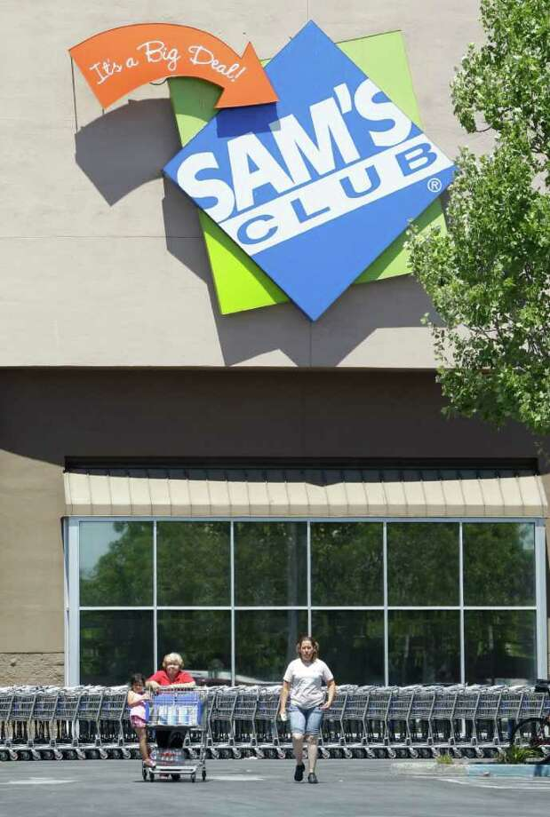 Sam's Club will close four locations in central and western New York state in 2018. Sam's Clubs in Latham and Kingston will remain open. (AP Photo/Paul Sakuma) Photo: Paul Sakuma