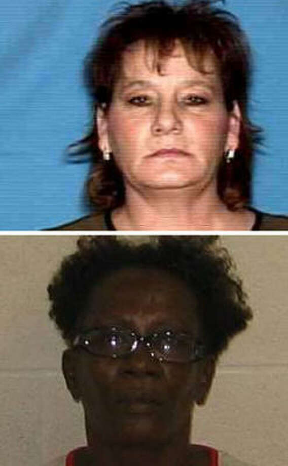 Patricia Sultan Spencer (top) and Evelyn Joyce Harvey were killed this year in Galveston. The crimes happened within blocks of each other. Photo: Handout Photos