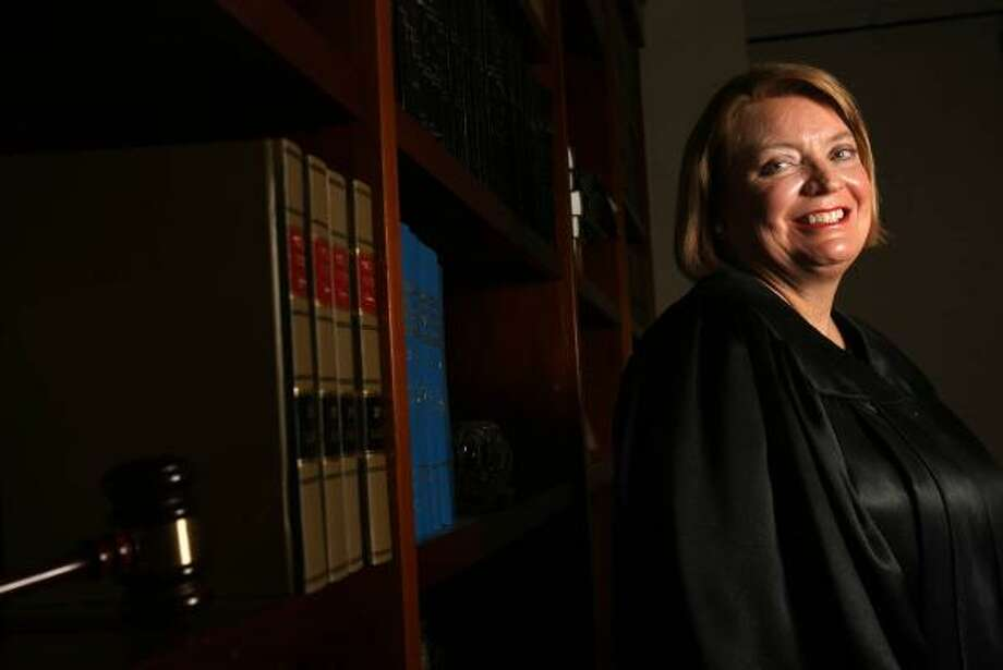 Judge Jan Krocker's 184th District Court will hear felony cases of defendants diagnosed with schizophrenia, bipolar disorder and severe depression on a full-time basis. Photo: MAYA BELTRÁN, CHRONICLE