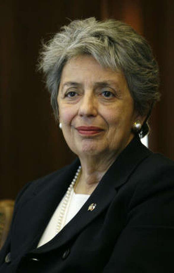 Harris County District Attorney Pat Lykos Photo: Karen Warren, Houston Chronicle