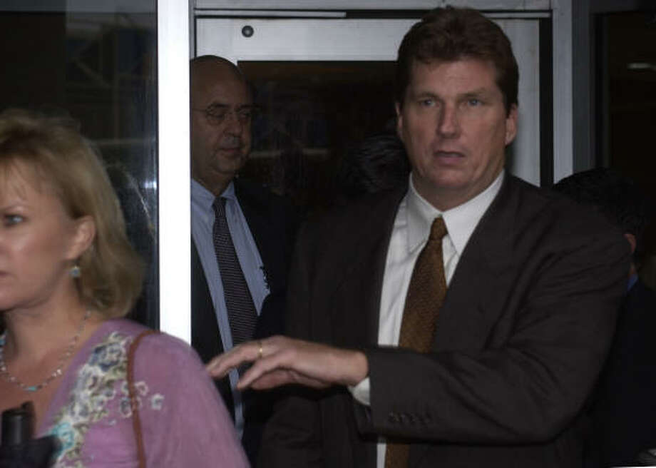Scott Yeager, shown in 2005,  was a top strategist for Enron's broadband division. Photo: Ben DeSoto, Chronicle File