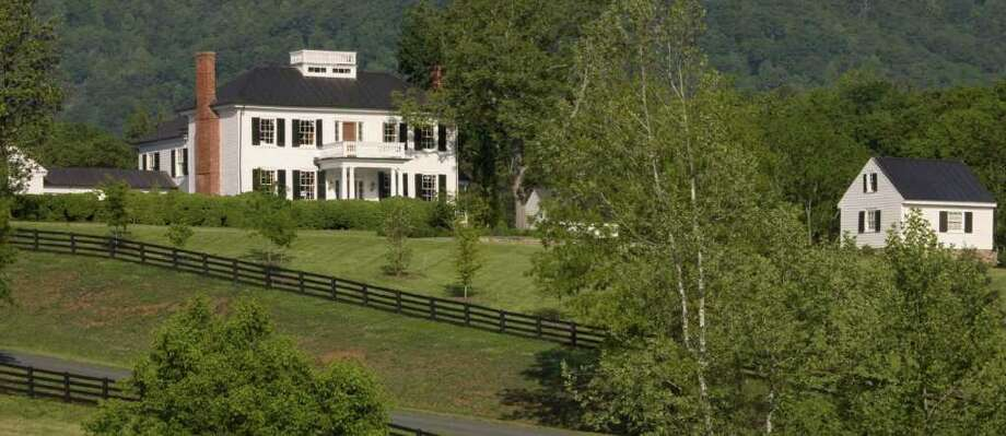 Mount Fair, a 400-acre property in Charlottesville, Va., was recently renovated and restored by Mark Finlay Architects of Southport. Photo: Contributed Photo