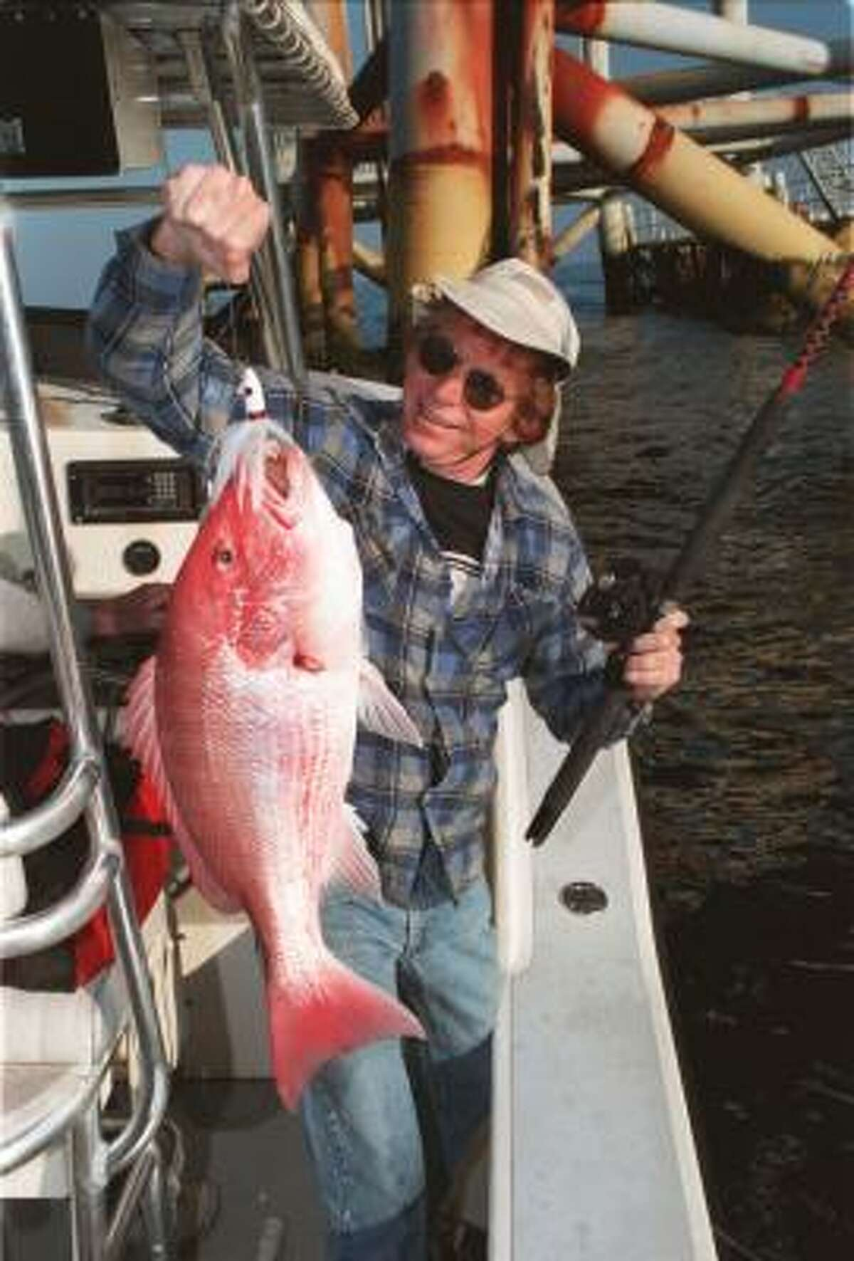 Red snapper are among the species that could be raised offshore for commercial use.