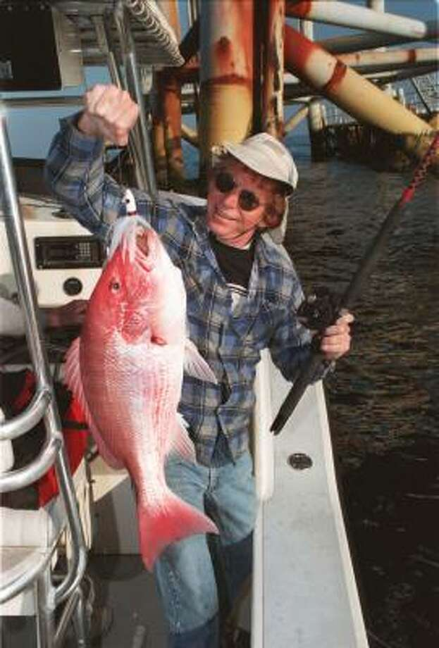 Red snapper are among the species that could be raised offshore for commercial use. Photo: Shannon Tompkins, Chronicle