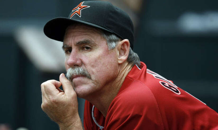 Phil Garner led the Astros to the National LEague Championship Series in 2004 and World Series in 2005. Photo: David Zalubowski, AP