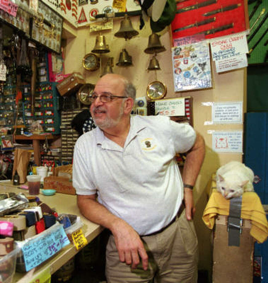 Meyer Reiswerg, who  was known as Col. Bubbie, passed away five years ago. His wife said this week that after 42 years she's ready to close Col. Bubbie's and retire. She's aiming to be closed for good after the Christmas season. Photo: Melissa Phillip, Houston Chronicle