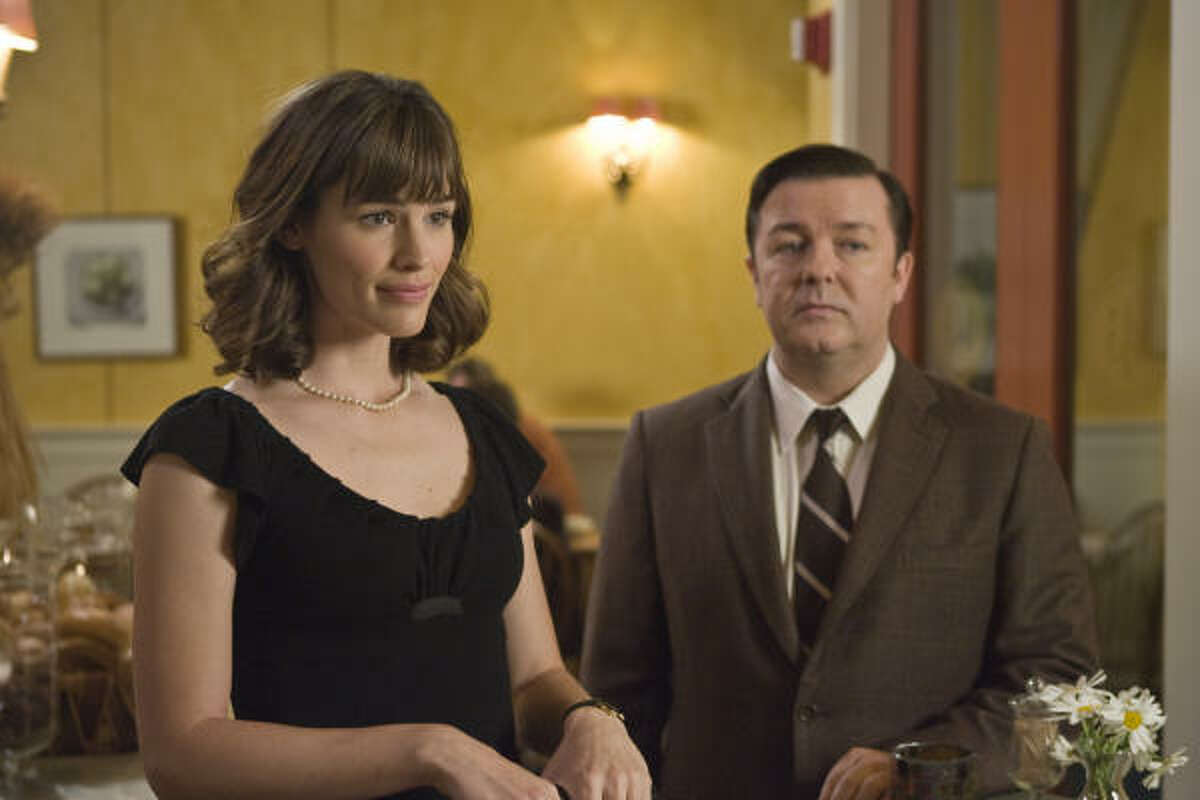 Jennifer Garner stars in the film with Ricky Gervais.