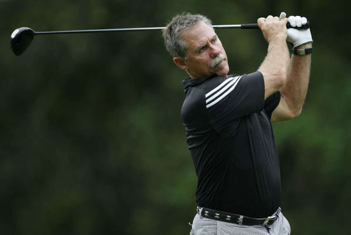 Phil Garner said he was disappointed by not being able to return but will continue to have time to play golf.