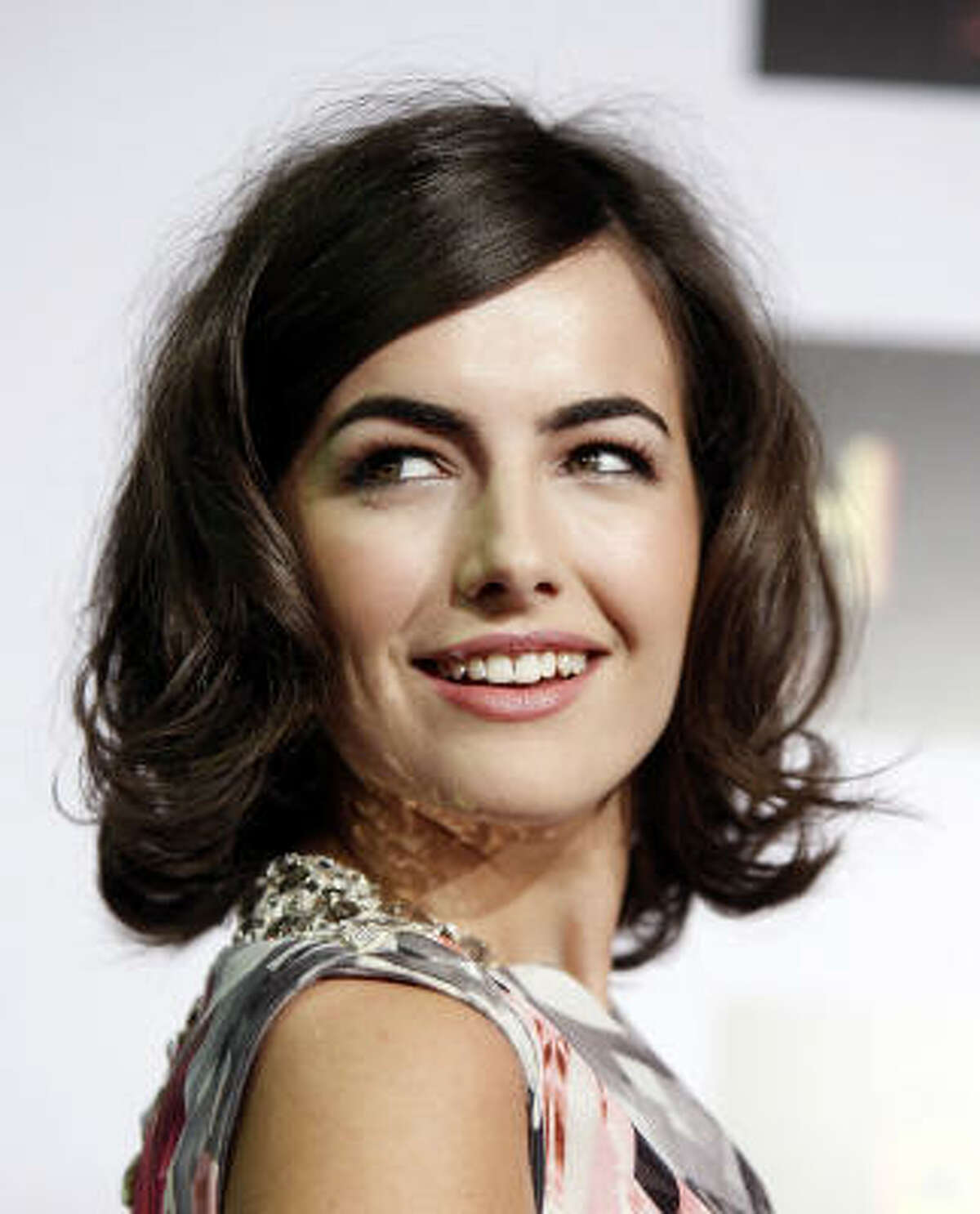 Actress Camilla Belle (and her flawless eyebrows)arrive at the premiere of Push in Los Angeles.