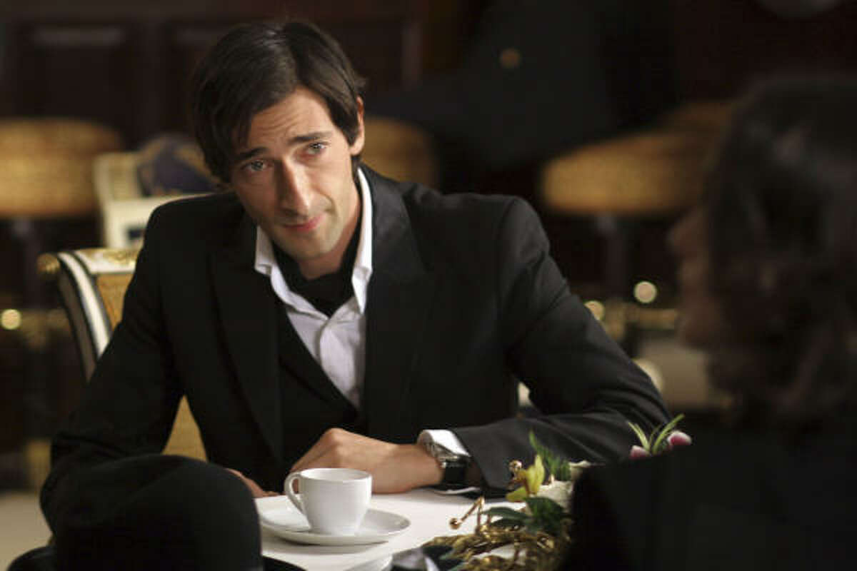 Adrien Brody stars in the adventure comedy The Brothers Bloom.