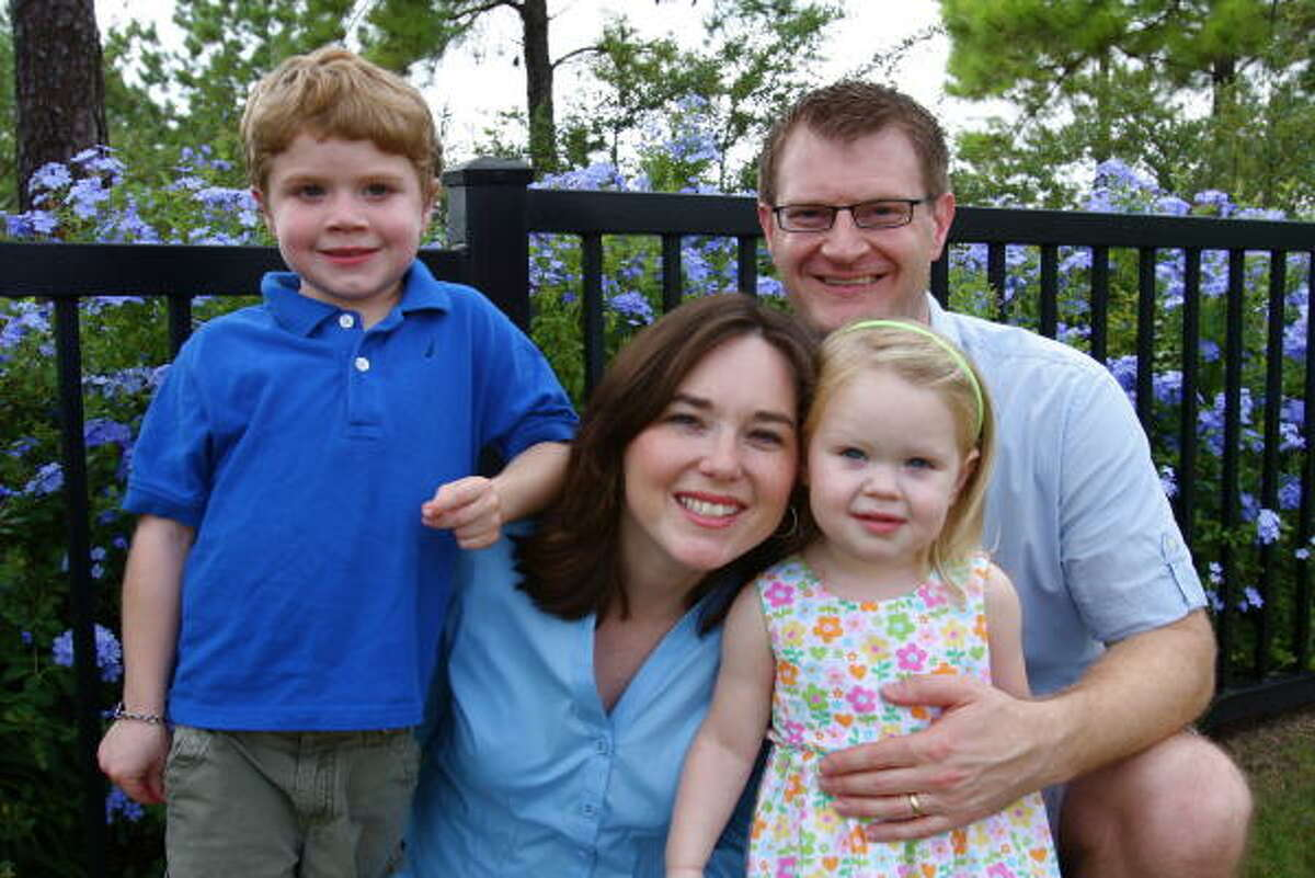 Rachel and James Poysky have two children Joel, 7, and Hallie, 2. Joel was diagnosed with Duchenne muscular dystrophy when he was 3.